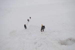 Движение по ледово-снежным склонам